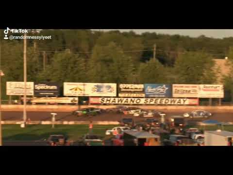 Roll over at shawano speedway