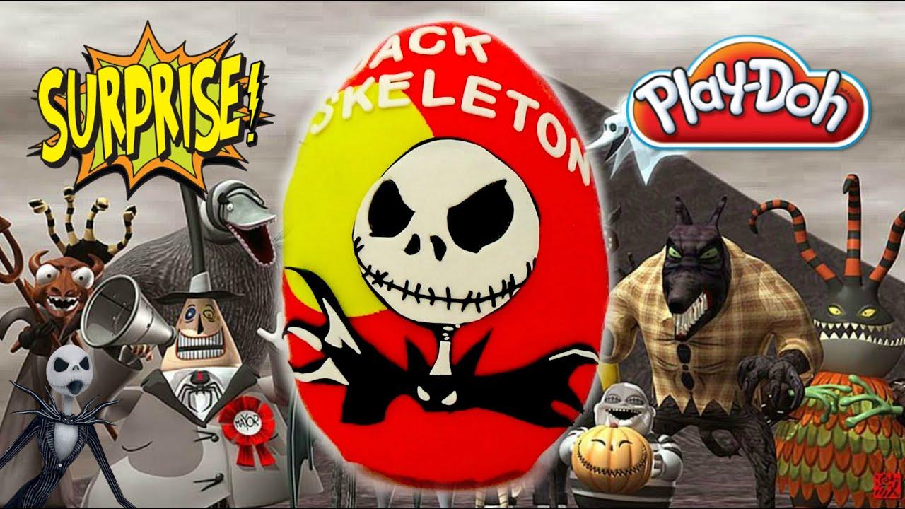 GIANT JACK SKELLINGTON Skeleton Nightmare Before Christmas Egg ...