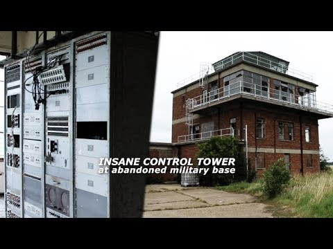 ABANDONED Air Force Base! (Found INSANE Control Tower)