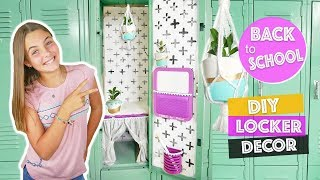 Back To School DIY Locker Decor Mini Macrame Plant Hanger | Tools For School Kids Cooking and Crafts