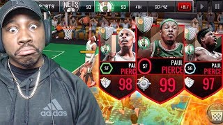 BIGGEST L EVER IN PAUL PIERCE TRIBUTE PACK OPENING! NBA Live Mobile Gameplay Pack Opening Ep. 163