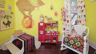 Cheerful Eclectic Kids' Bedrooms in Yellow Unleash a World of Fun!