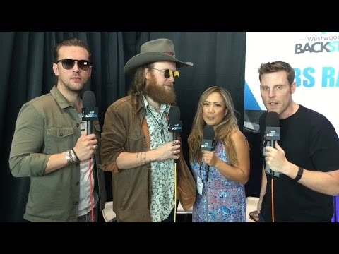 Chris and Nina Interview the Brothers Osborne Backstage at the ACMs!