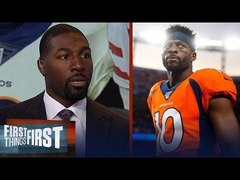Emmanuel Sanders will make impact for 49ers right away — Greg Jennings | NFL | FIRST THINGS FIRST