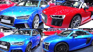 Officially NEW Audi RS6, Audi RS7, Audi R8, Audi TT RS V10, GT 2016, 2017 model
