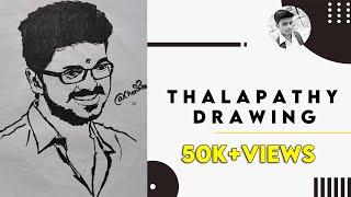 Vijay drawing/Vijay 63 drawing/vijay sketch