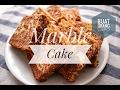Fluffy Marble Cake | Kek Marble Gebu dan Lembut