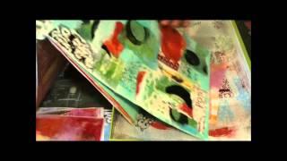 Studio Series Thermofax Deli Paper Collage Part 1