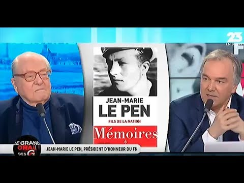 Jean-Marie Le Pen - Grandes Gueules RMC