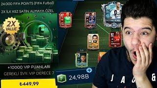 25.000 FIFA POINTS İLE PAKET AÇARAK BAŞLIYORUZ !! FIFA MOBİLE 19