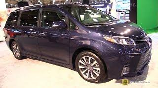 2018 Toyota Sienna LTD AWD -  Exterior and Interior Walkaround - 2017 NY Auto Show thumbnail