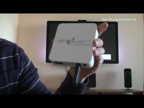 Android TV-Box mit Sat-TV Stream