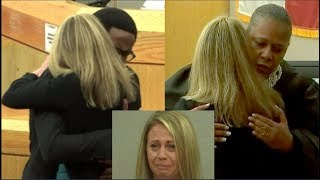 Amber Guyger Gets 10 Years! Botham Jean's Bro Says He Loves Her! The Judge Hugs Her & Cries