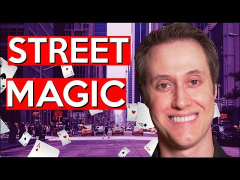David Williamson 3 Card Magic Trick // Performance