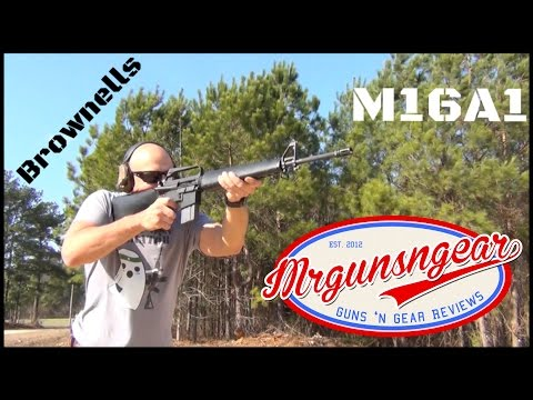 Brownells M16A1 Clone Build Review (HD)