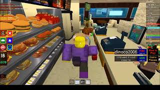 McDonaldsville Roblox District Manger (Firing People)