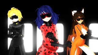 [MMD] [Day 4] Miraculous Ladybug - PSY Gangam Style/ [ММД] Чудесная ЛедиБаг - Гангам Стайл!