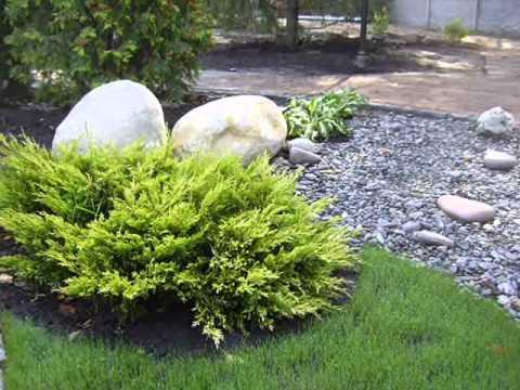 Необычный декор для сада и дачи - камень валун