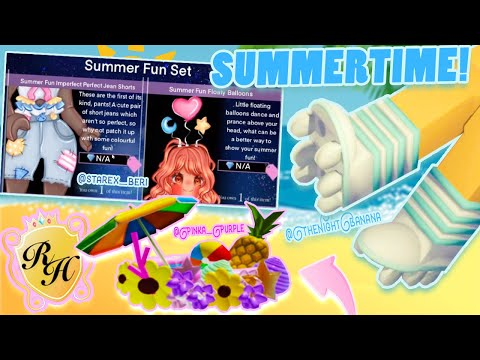 SUMMER 2020 🌞 ACCESSORIES, MAKE-UP & WING UPDATE IDEAS! COMMUNITY CREATIONS! Royale High