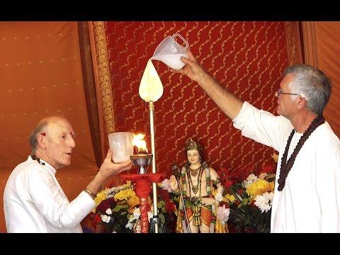 Vel Vel Muruga! Puja To Lord Murugan's Vel – At Skanda Vale Ashram.
