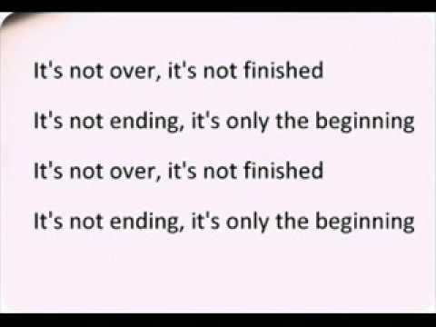 It's Not Over (When God Is In It) By Israel \u0026 New Breed--Lyrics Video