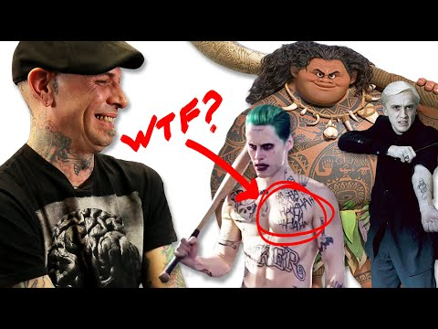 Professional Tattoo Artists Judge Tattoos From Movies
