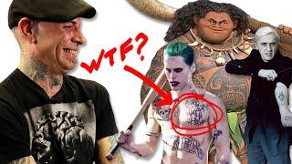 Professional Tattoo Artists Judge Tattoos From Movies thumbnail