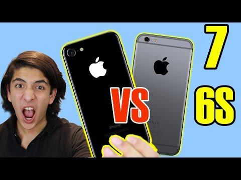 IPhone 7 Vs IPhone 6S ¿CUÁL COMPRAR? - AQUÍ TU RESPUESTA