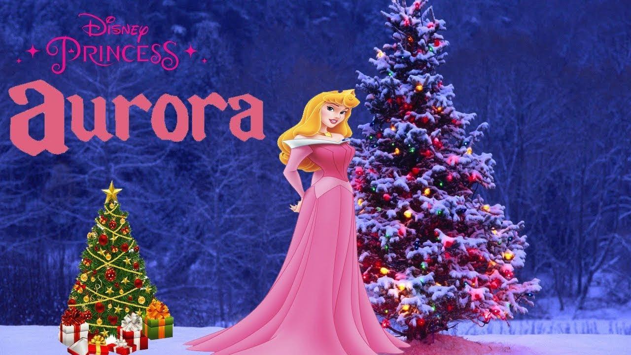 Christmas Princess.Disney Princess Game Aurora Christmas Tree Merry Christmas