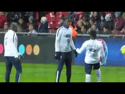 Mamadou Sakho ● Bacary Sagna ● Kurt Zouma ● Lassana Diarra ● Danemark vs France 2015