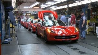 ► 2014 Chevrolet Corvette PRODUCTION
