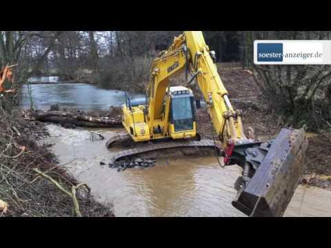 Die Möhne bekommt ein neues Flussbett