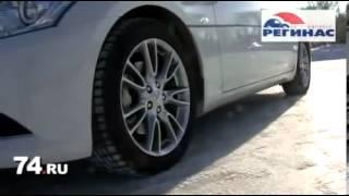 Контраварийное вождение автомобиля зимой