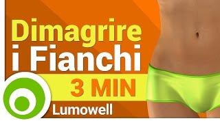 Dimagrire i Fianchi - 3 Minuti