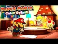 PAPER MARIO: COLOR SPLASH - PROLOGUE GAMEPLAY (ENGLISH) WII U | LUIGIKID GAMING