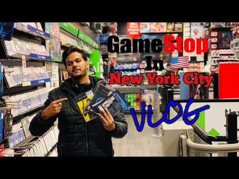 A Visit To GameStop In NYC || A Paradise For Gamers😍 ||