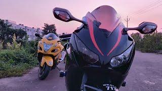 Refreshing Evening Ride | Hayabusa & CBR Fireblade 1000RR