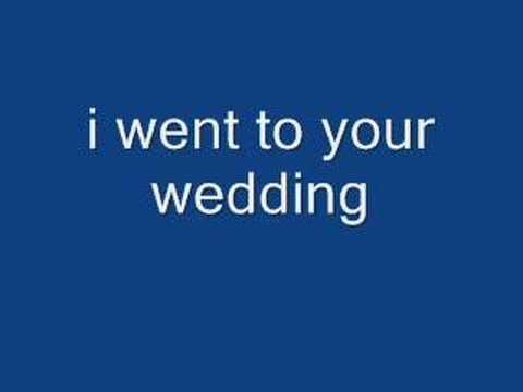 i went to your wedding - victor wood