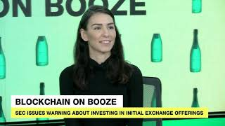 Blockchain Pros Get Drunk & Try To Talk Crypto News