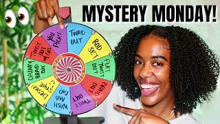 NEW MYSTERY MONDAY HAIRSTYLE!! - WHAT STYLE WILL IT LAND ON?!   NATURAL HAIR
