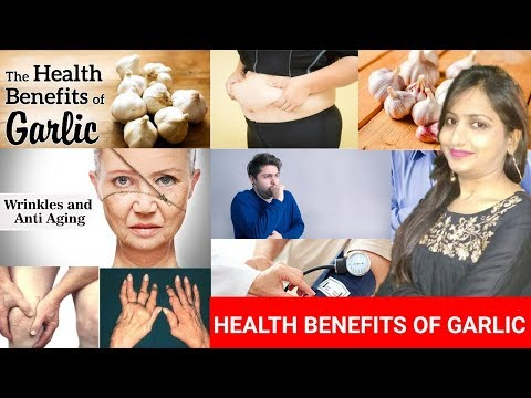 Health Benefits of Eating ONE RAW GARLIC CLOVE DAILY