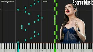 Sofia Carson, Dove Cameron, China Anne McClain - One Kiss (Piano Tutorial) | Secret Music