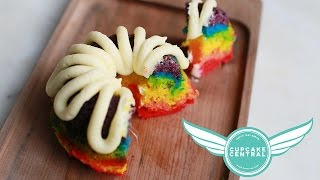 RAINBOW BUNDT CAKES with Cupcake Central