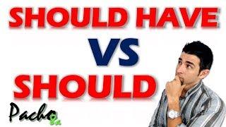 Esta es la diferencia entre SHOULD y SHOULD HAVE en inglés thumbnail