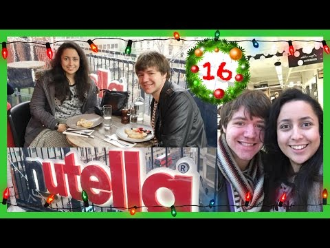 Nutella Cafe! (Vlogmas Day 16)