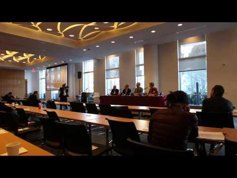 Manhattan DA Cy Vance at Fordham Law School