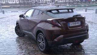 Essai Toyota C-HR 1.2T 116ch Distinctive