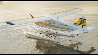 Flying The 1500mm Dynam Beaver Rc Float Plane At The Lake