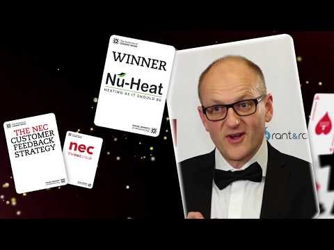 Nu-Heat - Winner of The NEC Customer Feedback Strategy Award