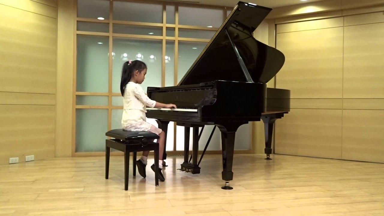 土耳其進行曲 20150906 紫瑜的鋼琴 貝多芬 - YouTube